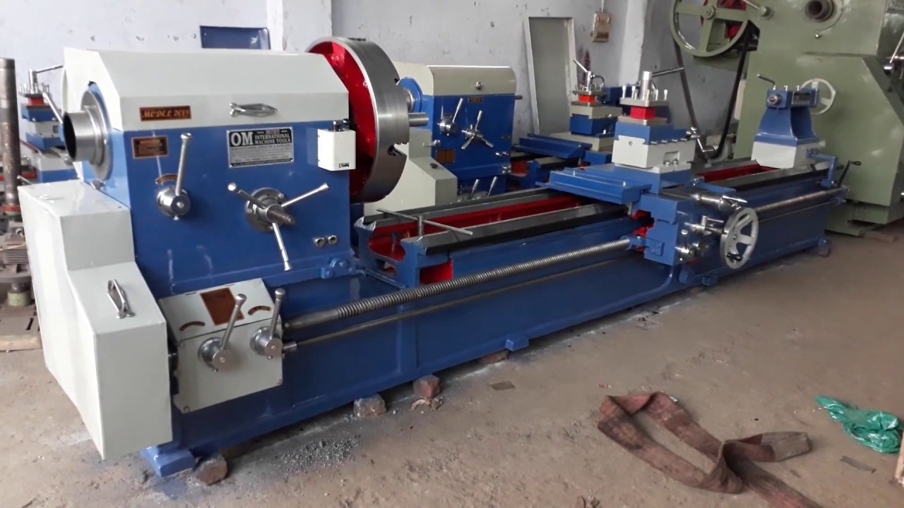 Heavy Duty Lathe Machine 16 Feet X  X 5 Bore Omnd