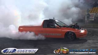 WONAGO FINALS BURNOUT AT BRASHERNATS SYDNEY 2015
