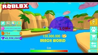 Bubble Gum Simulator the largest rubber in the world. Roblox