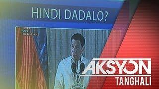 Pres. Duterte, posibleng hindi dumalo sa paggunita ng EDSA People Power 1 anniversary sa Lunes