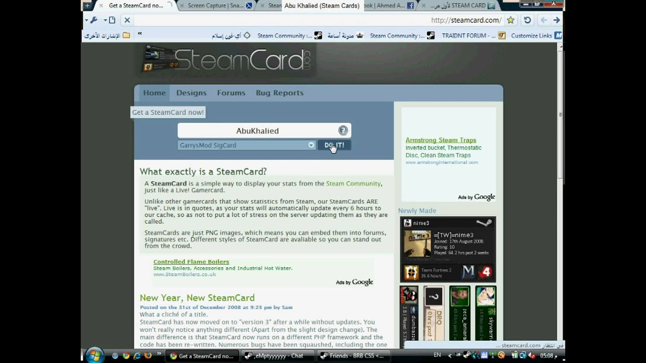 how to get cards steam