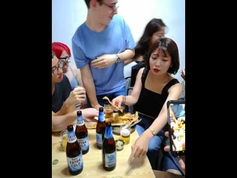 FAKE! Viral Video of Drunk South Korean Woman and Men in
