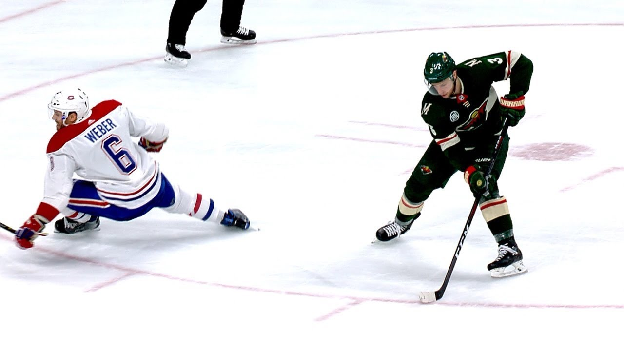 low priced 4dc6f 2670b Charlie Coyle uses perfect deke/backhand for SHG