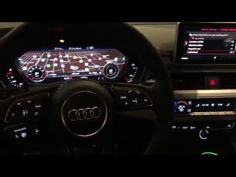 2017 audi a4 interior led lighting effects audi winnipeg youtube. Black Bedroom Furniture Sets. Home Design Ideas