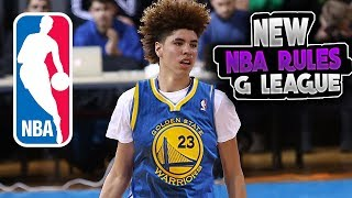 NBA RECRUITING LAMELO BALL with NEW G LEAGUE RULE!