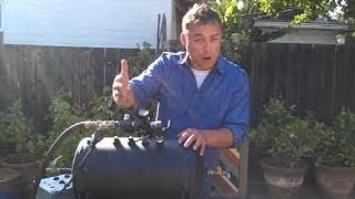 Setting Up Our Pneumatic Compressed Air Cannon Prop