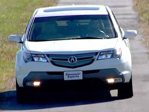 2007 2013 acura mdx review consumer reports youtube. Black Bedroom Furniture Sets. Home Design Ideas