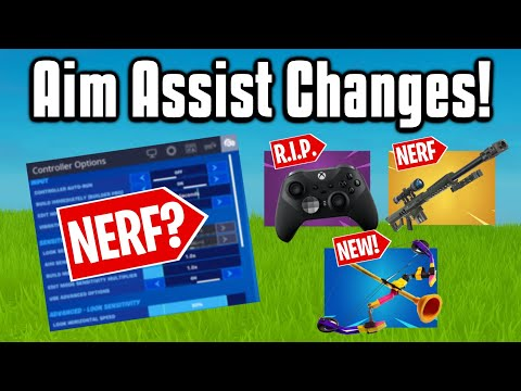 Everything You Need To Know About The HUGE Aim Assist Update! (Fortnite Season 2)