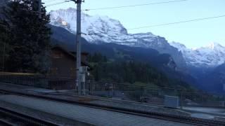 スイス登山鉄道 ウェンゲン