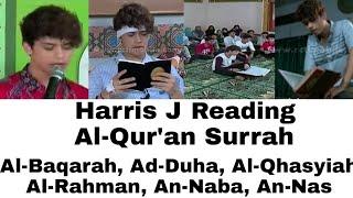 HARRIS J READING ANY SURAH AL QUR 39 AN AMAZING VOICE MASHALLAH