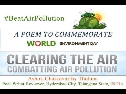 world environment day 5 June 2019 theme and slogan Beat Air Pollution