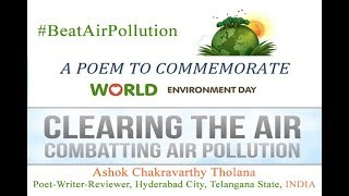 world environment day 5 June 2019 theme and slogan. Beat Air Pollution