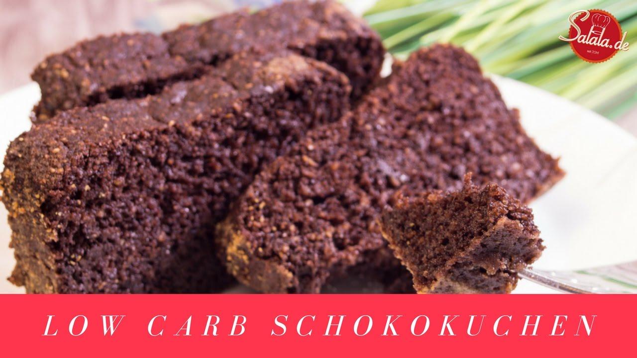Schokokuchen Rezept Ohne Mehl Ohne Zucker Low Carb Glutenfrei Youtube