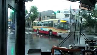 神奈川中央交通相27系統北里大学病院経由相武台前駅前面展望動画 Route bus front View KANAGAWACHUOUKOUTU SOU27