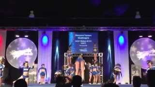 Maryland Twisters Weather Girls at The Finale 2015.