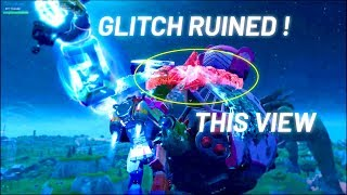 MECH VS MONSTER FORTNITE EVENT (I go INSIDE the MECH but this GLITCH ruined everything...)