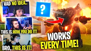 Use *THIS* To Defeat The Mech! WORKS EVERY TIME! (Fortnite Battle Royale) Ft. SypherPK & Zoof