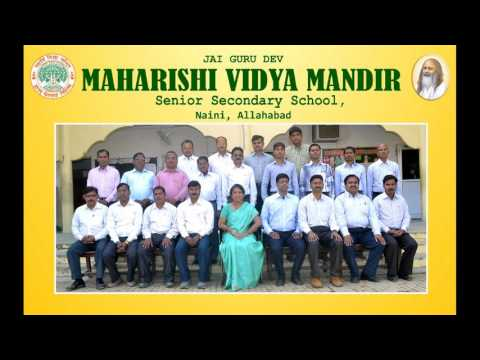 Teachers Staff of Maharishi Vidya Mandir Naini,Allahabad