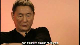 Intervista a Takeshi Kitano su Boiling Point