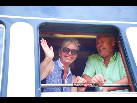 Treni ya Kifahari ilivyoondoka Leo DSM kuelekea Afrika Kusini