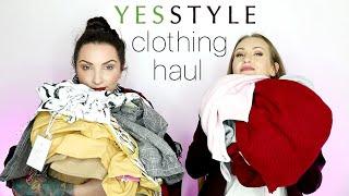 $500 YesStyle Clothing Haul + Try on!
