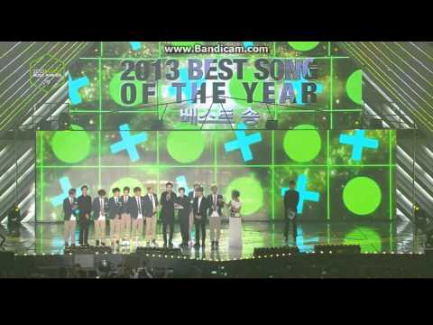 EXO WON BEST SONG OF THE YEAR 2013 MELON MUSIC AWARDS