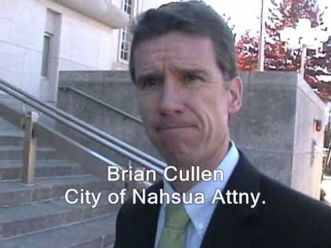 I direct my lawyer to file suit against cops in Nashua