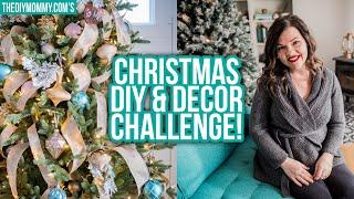 Invitation for YOU! Christmas DIY & Decor Challenge