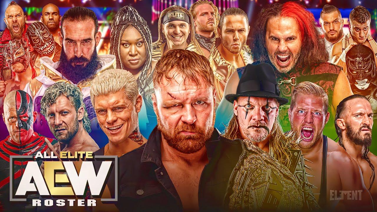 AEW Wrestling Official Roster 2020 All Signed Superstars (All Elite  Wrestling) - YouTube