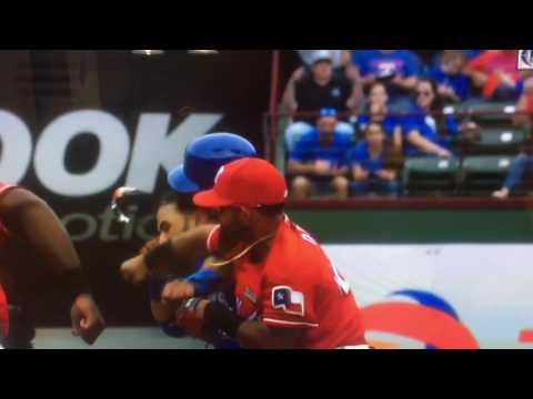 Odor owns Bautista: Texas Rangers PUNCH!