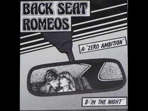 Back Seat Romeos Zero Ambition