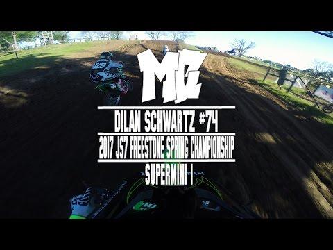 2017 JS7 Freestone Spring Championship: Dilan Schwartz Shreds Supermini 1 -MotoChasin