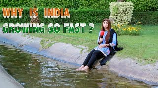 Why Is India Growing So Fast ? | Pakistan's Public Opinion | Sana Amjad