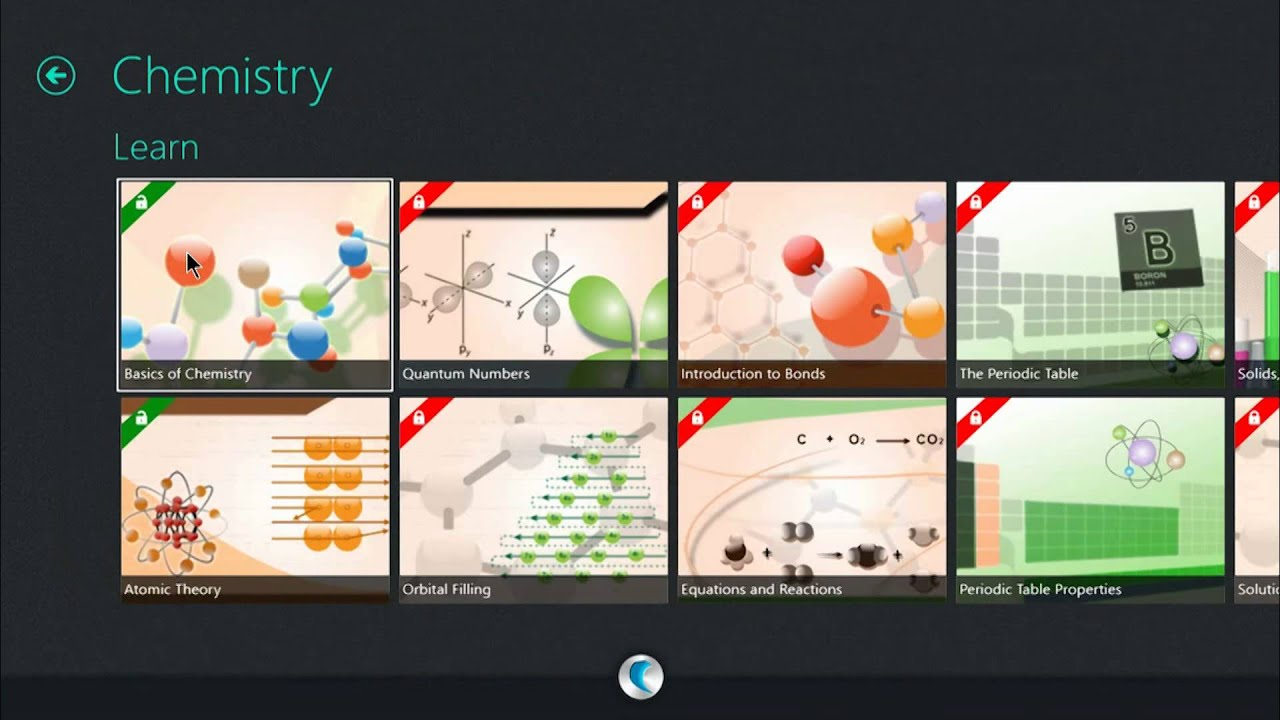 demo of physics chemistry and math app on windows 8 - Periodic Table App For Windows 8