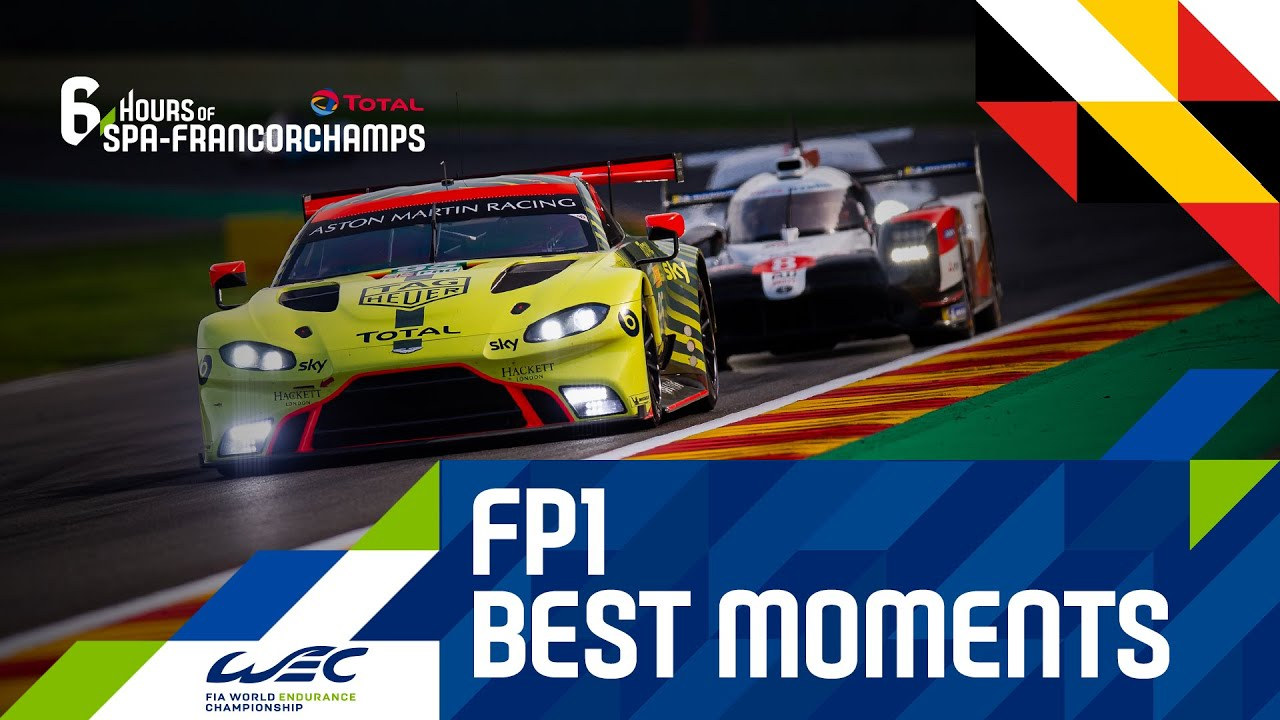 Total 6 hours of Spa-Francorchamps 2020 - Free Practice 1 Best Moments