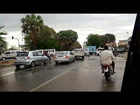 السياحة في الخرطوم في موسم المطر - بلادك حلوة ارجع ليها - Khartoum - مع تعريف بعض المعالم في الفيديو