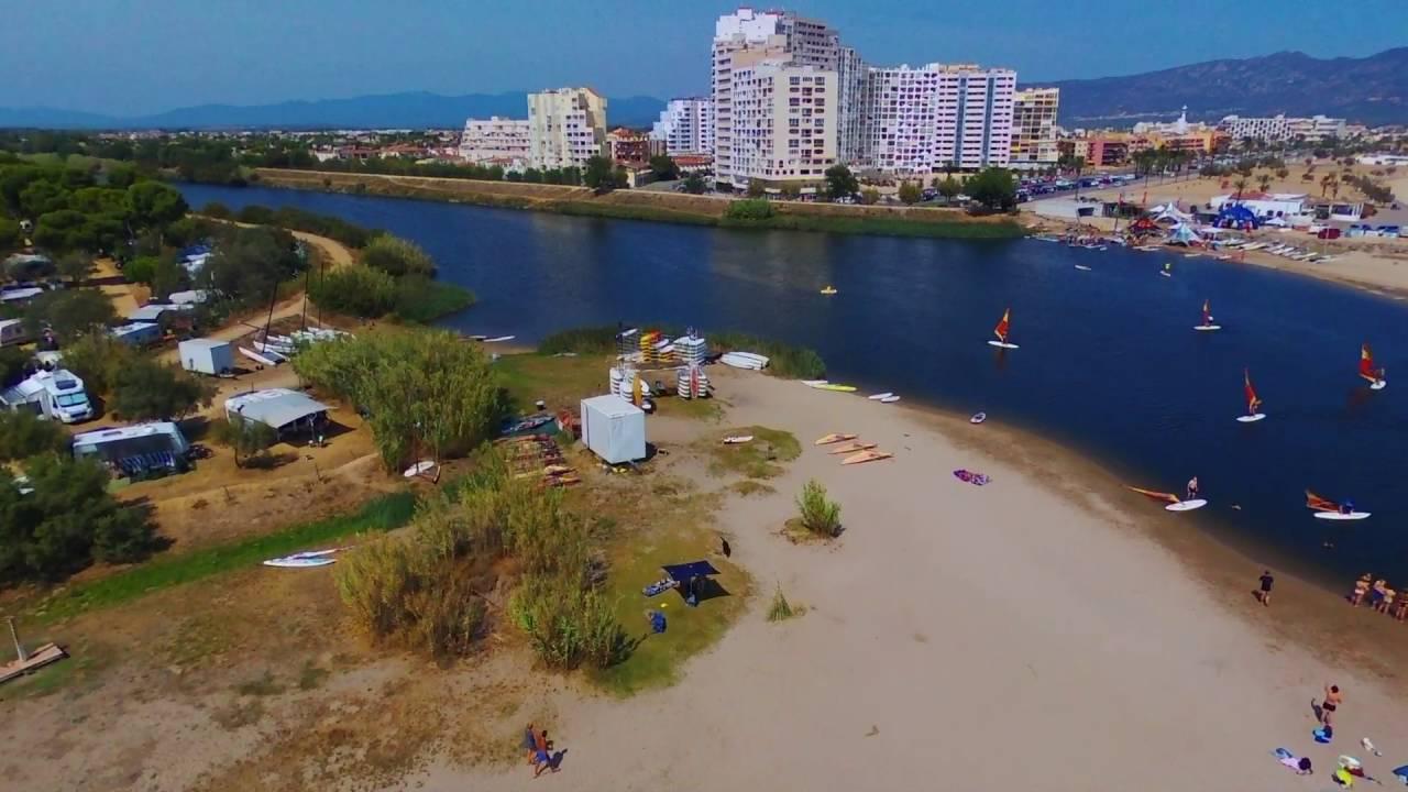 Empuriabrava Camping Laguna Costa Brava - YouTube