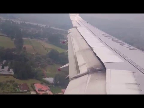 Aterrizando en Rionegro (Antioquia) Colombia. MOV 0153