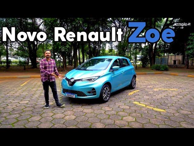 Novo Renault Zoe elétrico tem torque de Polo GTS e preço de R$ 205 mil