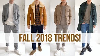 Men's Fall Fashion Trends You NEED to Know Right Now | Style Inspiration 2018