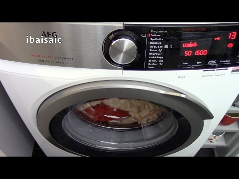 AEG 8000 Series L8FEC966R 9Kg Washing Machine Review For AO.com