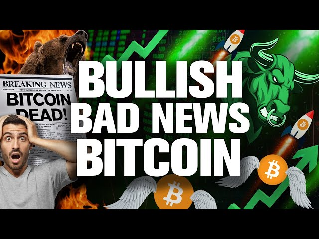 This BAD News for BTC Will Cause the BIG PUMP!