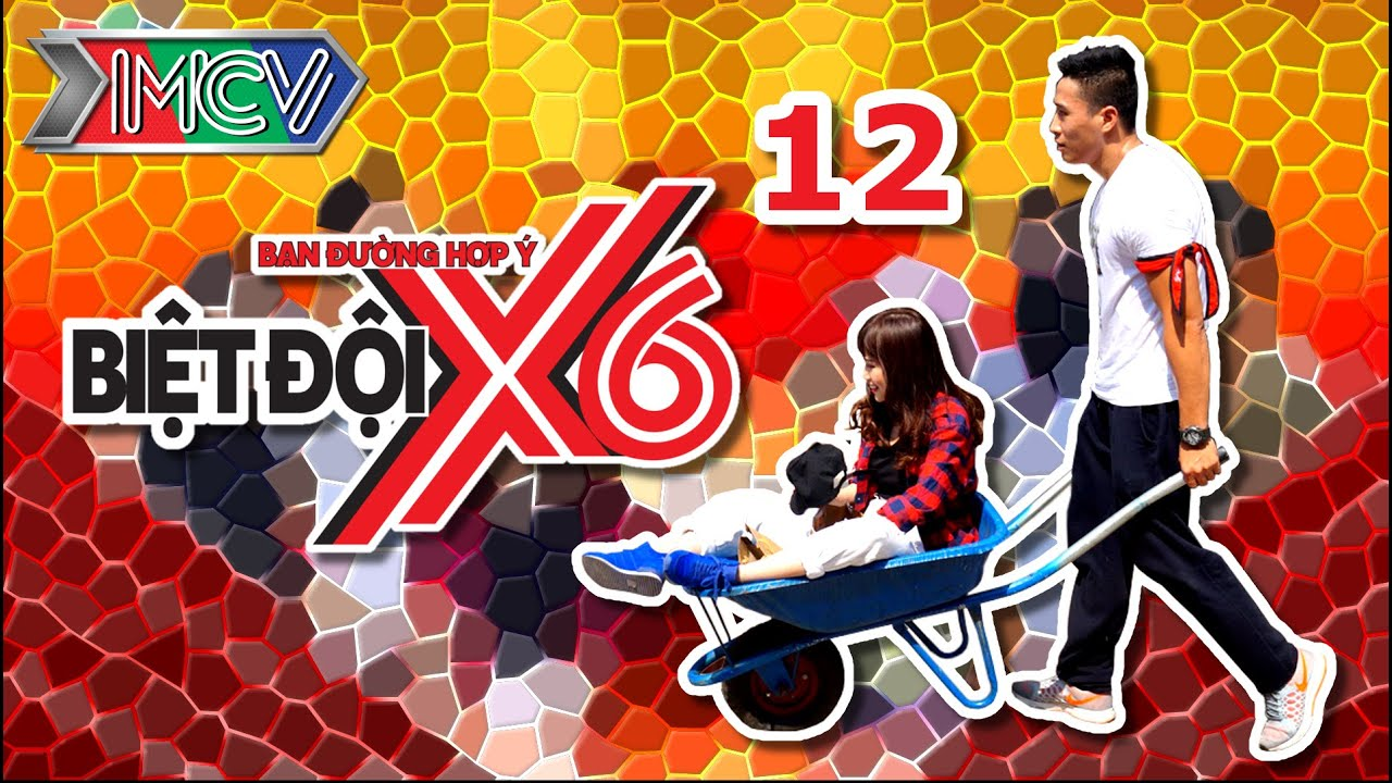 BIỆT ĐỘI X6 | Tập 12 | Sáu anh em siêu nhân ĐẠI NÁO phố tây Bùi Viện | 010416