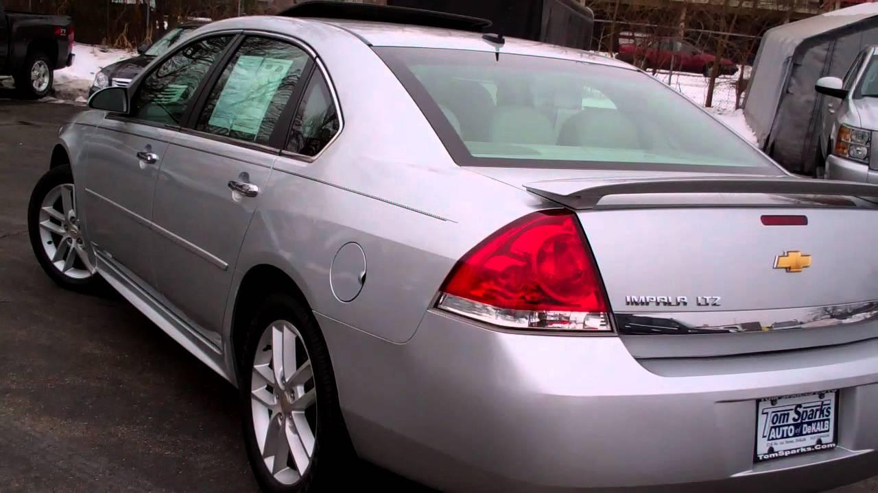 Dekalb Sycamore Chevy >> 2011 Chevrolet Impala LtZ 4dr Sharp Sycamore IL near ...