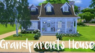 The Sims 4: Speed Build- GRANDPARENTS HOUSE