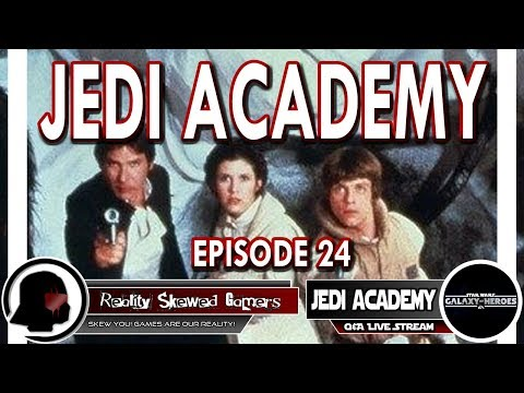 SWGOH Jedi Academy Episode 24 Live Q&A | Star Wars: Galaxy of Heroes #swgoh