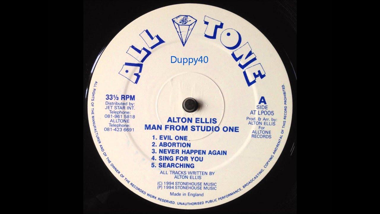 Alton Ellis Man From Studio One Full Album - Free music