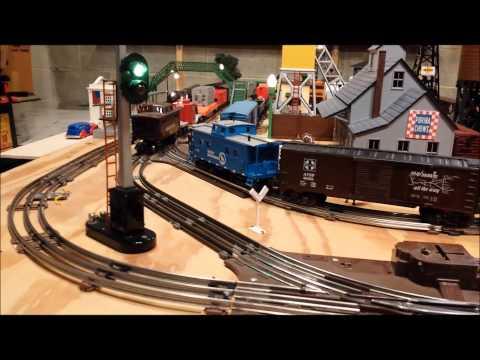 O Gauge Toy Train Layout