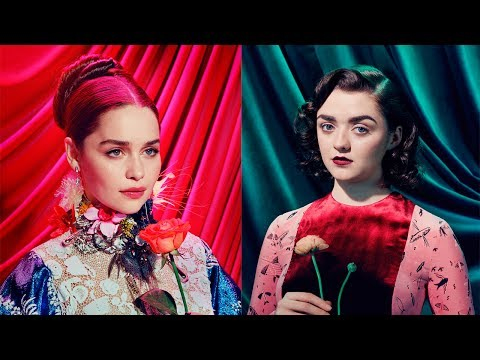 Behind the Scenes Game of Thrones TIME Magazine Shoot by Miles Aldridge