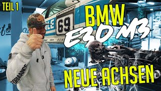 JP Performance - BMW E30 M3 | New axles! | Part 1